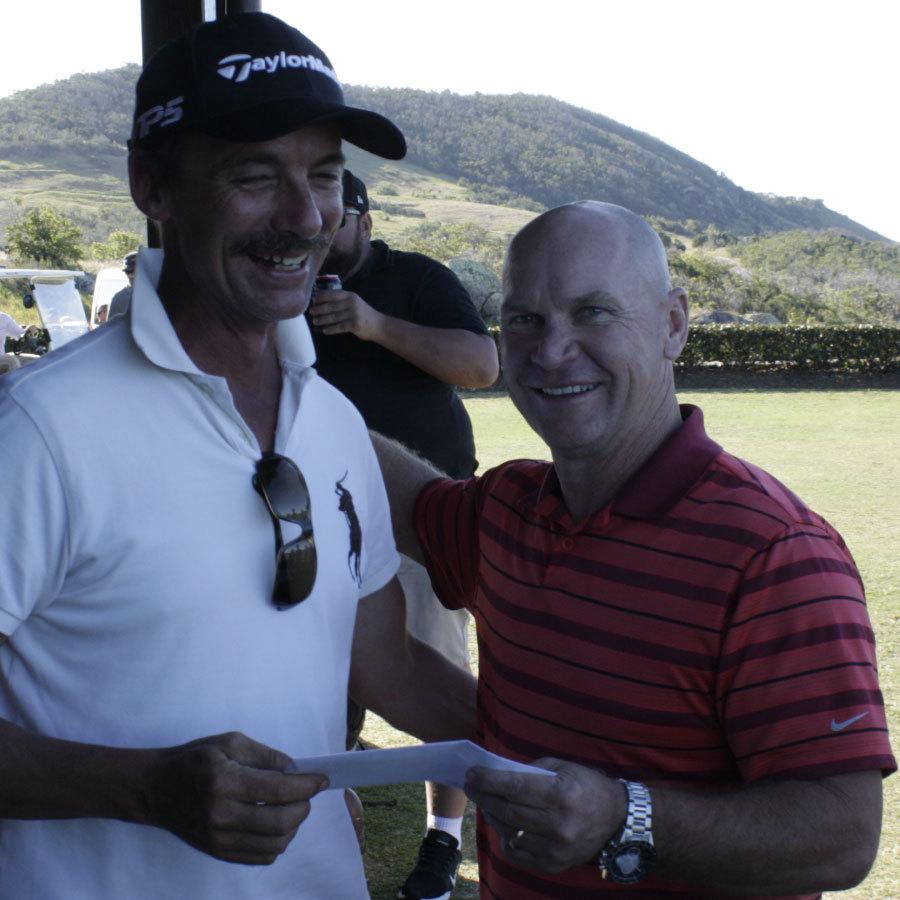 Allan Langer - Dowden Pumping & Water Treatment Golf Day