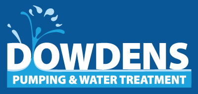 Dowdens Pumping & Water Treatment Logo Reverse