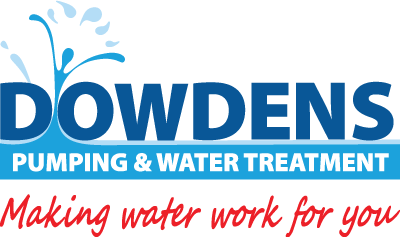 Dowdens Pumping & Water Treatment Logo with Tagline