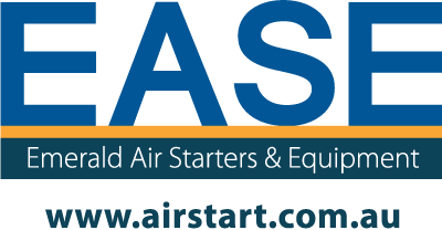 Emerald Air Starters & Equipment Logo with Website