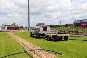 BB Print Stadium Irrigation Install - Dowdens Pumping & Water Treatment