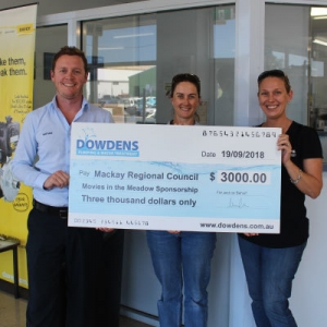 Dowdens Sponsorship - Mackay City Council