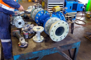 Workshop Valve Assembly - Dowdens Pumping & Water Treatment