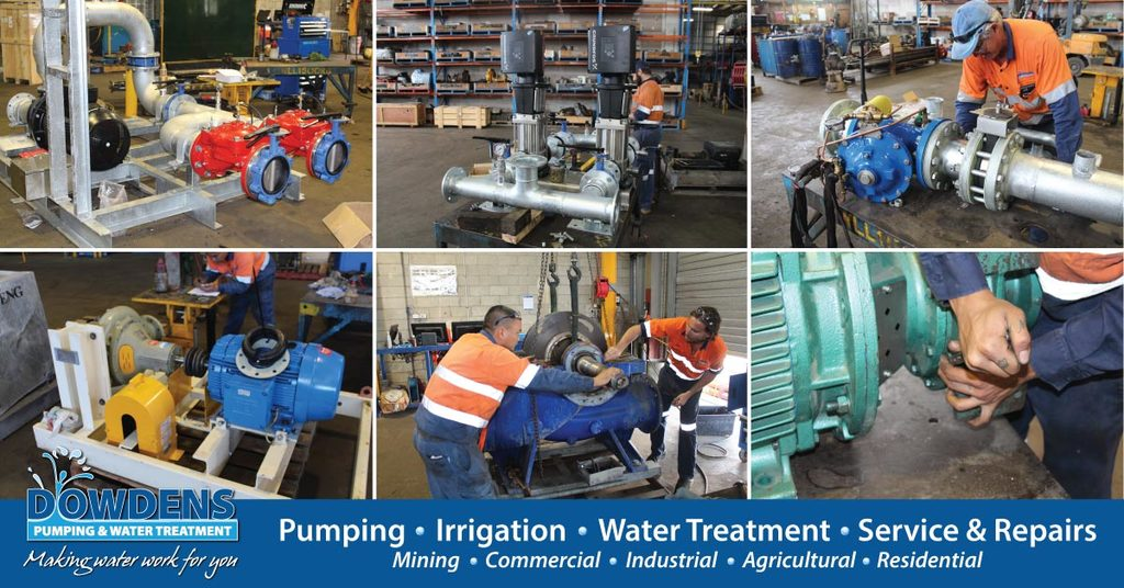 Dowdens Pumping & Water Treatment - Industrial Pump Fitter